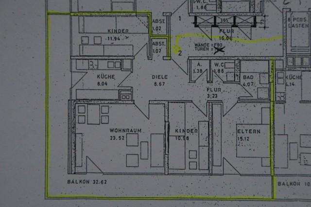 Helle 4-Zimmerwohnung mit Blick ins Grüne